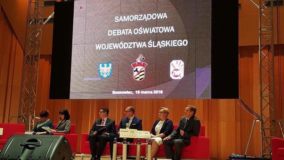 Edukacyjny Niepokój. Konferencja w Sosnowcu.
