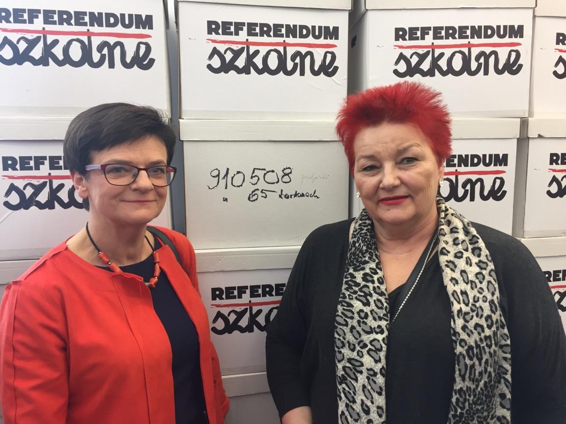 Blisko milion podpisów za referendum
