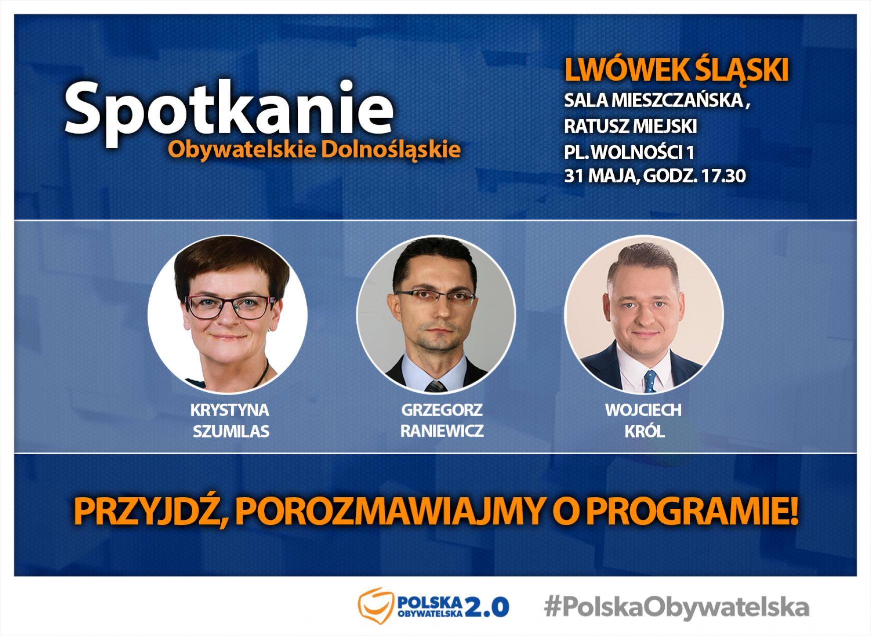 Spotkanie Obywatelskie w Lwówku Śląskim