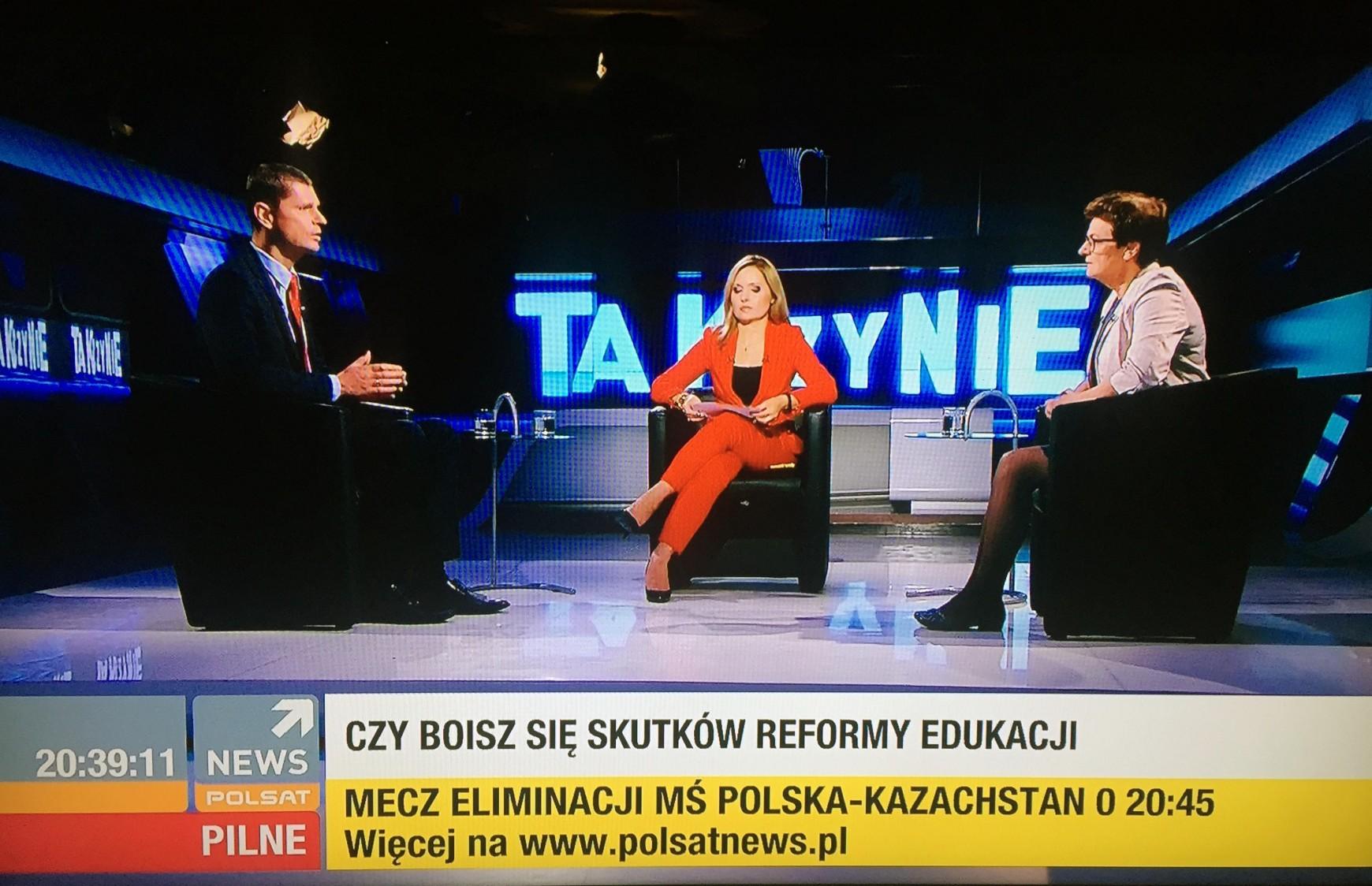 O konsekwencjach złej reformy w Polsat News