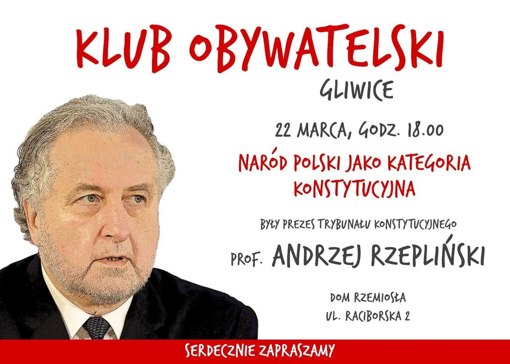 Profesor Rzepliński w Gliwicach