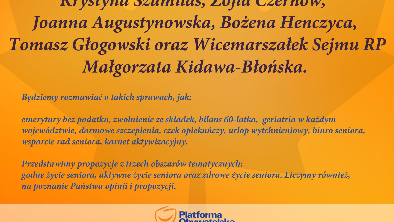 Polska Seniora w powiecie gliwickim