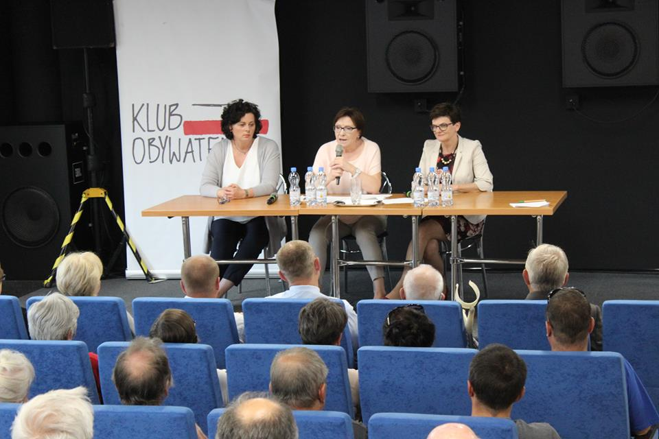 Klub Obywatelski o kobietach w polityce