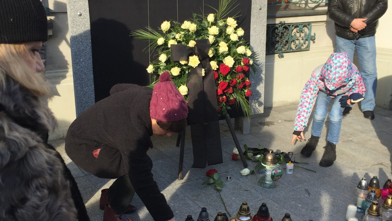 Żałoba po śmierci prezydenta Gdańska