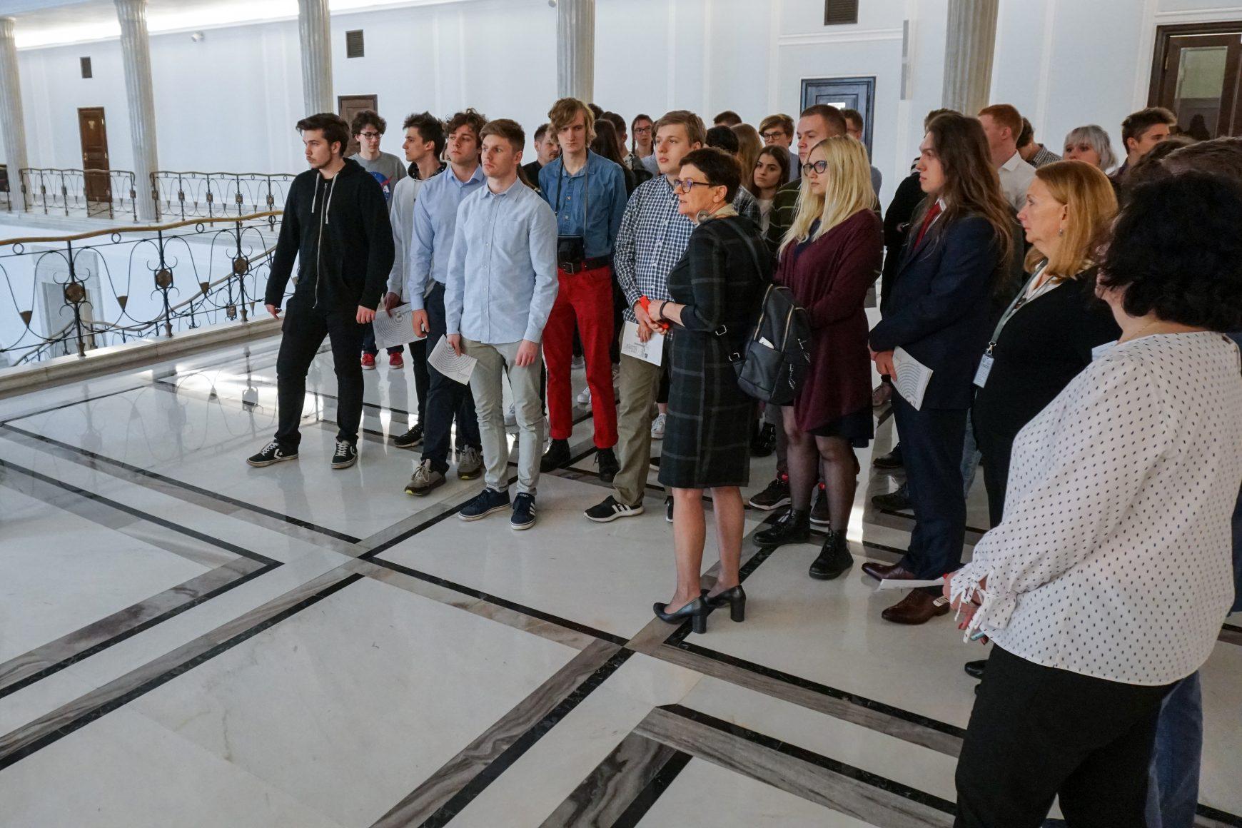 Gliwicka młodzież w parlamencie