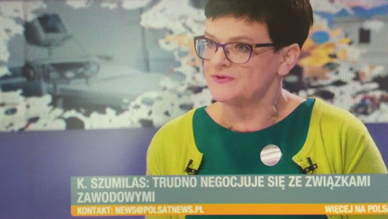 W Polsat News o negocjacjach rządu z nauczycielami