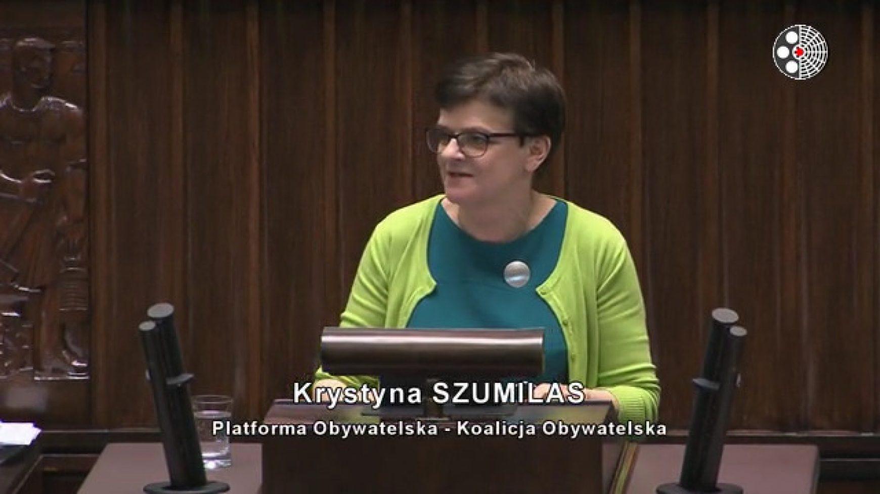 Wniosek o wyrażenie wotum nieufności wobec Minister Edukacji Narodowej
