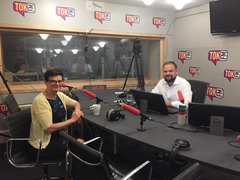 Rozmowa w radiu TOKFM