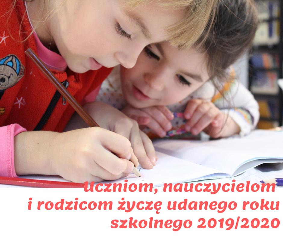 Początek roku szkolnego 2019/2020
