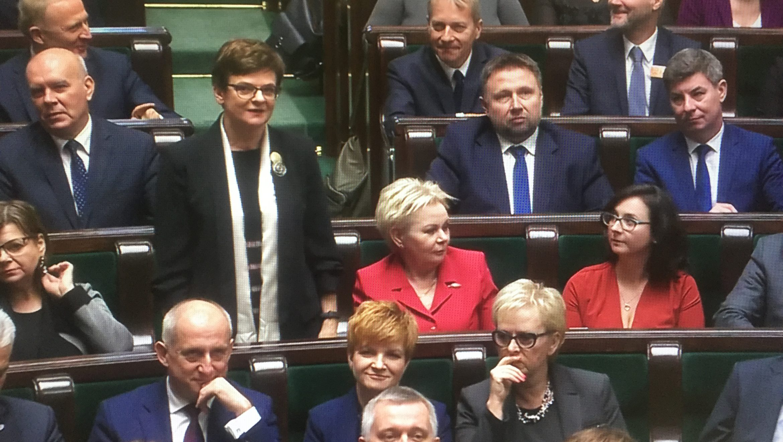 Pierwsze posiedzenie Sejmu IX kadencji
