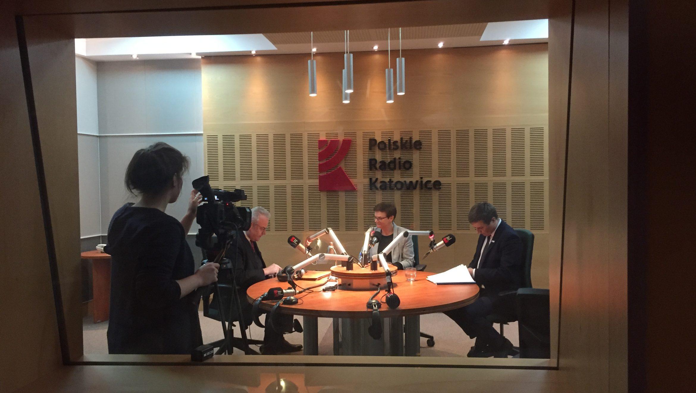 Debata o edukacji w Radiu Katowice