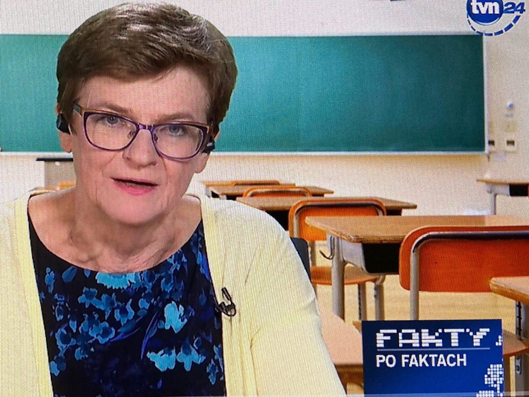 Fakty po Faktach o powrocie uczniów do szkół