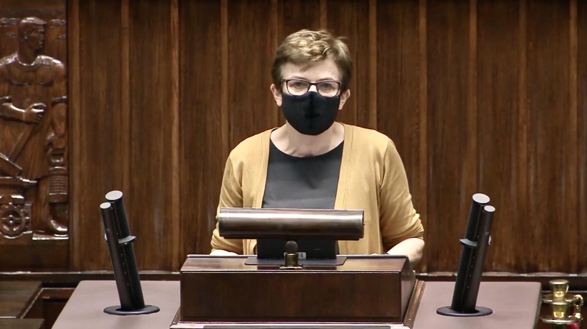 Wystąpienie z dnia 14 kwietnia 2021 r. Posiedzenie Sejmu RP nr 28