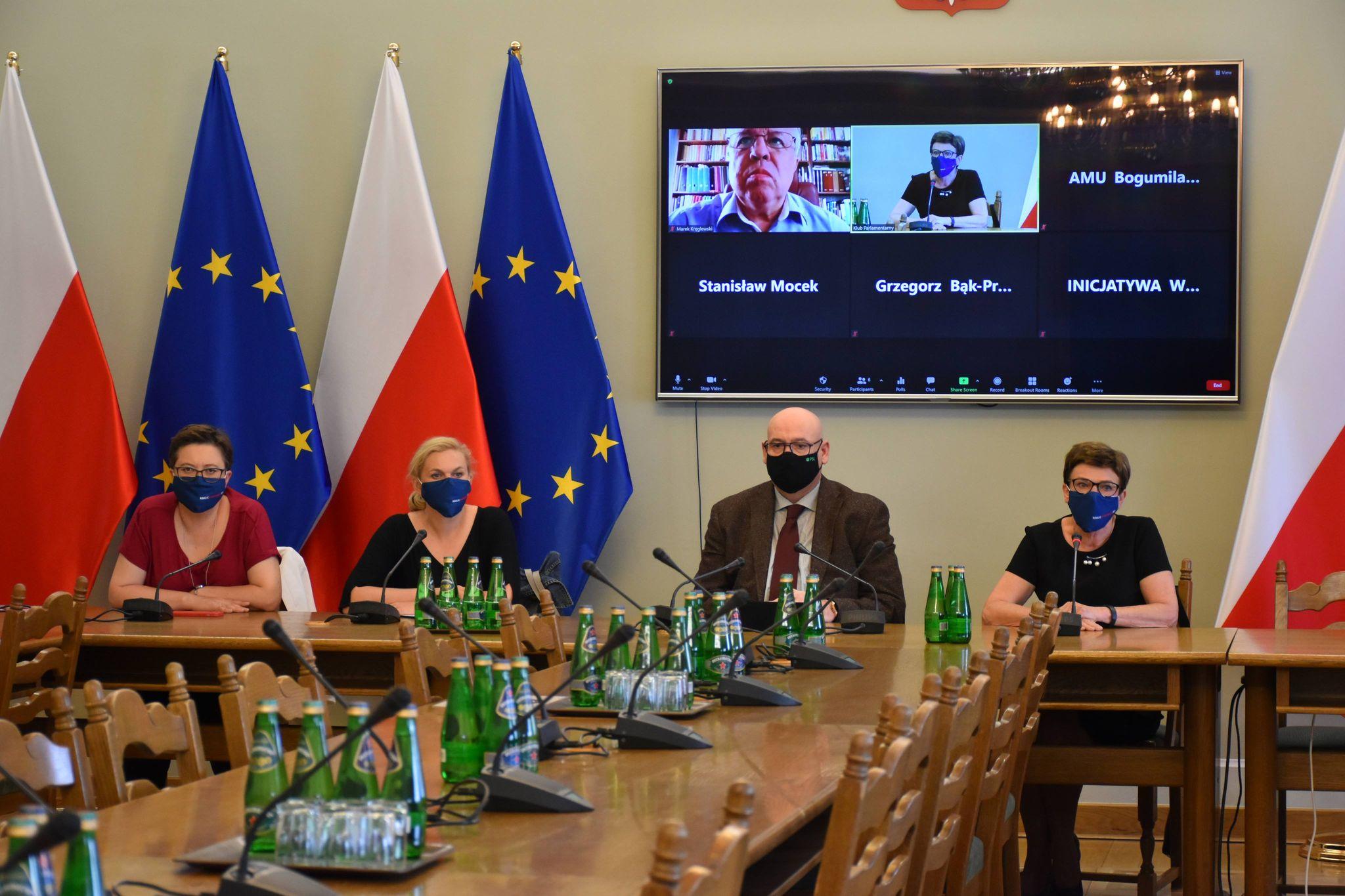 Konsultacje w Sejmie w sprawie Pakietu Wolnościowego dla uczelni